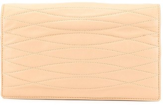 Chanel Pre-Owned quilted long wallet