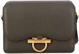 Salvatore Ferragamo Crossbody Bags Classic Joanne Bag In Genuine Leather With Mediterranean Hook