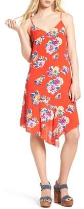 BP Asymmetrical Floral Print Dress