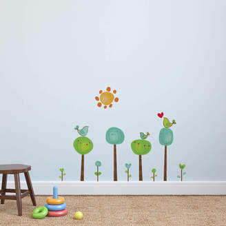 aea12a40a1 POM GIFTS Childrens Bird Tree Wall Stickers