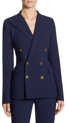Ralph Lauren Collection Iconic Camden Double-Breasted Wool Jacket $1,690 thestylecure.com