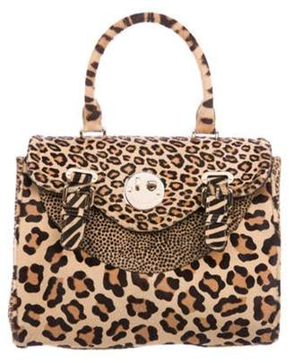Hill & Friends Ponyhair Top Handle Bag Tan Ponyhair Top Handle Bag