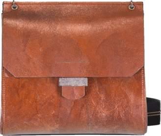 Brunello Cucinelli Glitter Leather Crossbody Bag