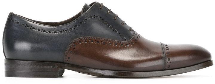 CanaliCanali colour block Oxford shoes