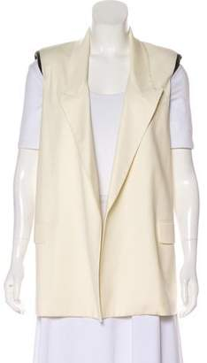 Yigal Azrouel Wool Open-Faced Vest