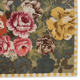 Mackenzie Childs MacKenzie-Childs Bloomsbury Garden Rug, 2.3' x 3.75'