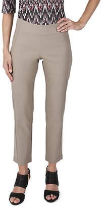 Haggar Petite Slim-Fit Ankle Pants