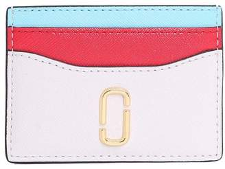 Marc Jacobs Snapshot Color-block Saffiano-leather Card Hold