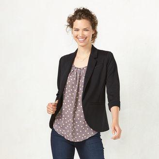 Women's LC Lauren Conrad Ponte Blazer $64 thestylecure.com