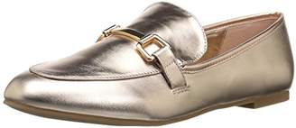 Rampage Women's Delila Comfortable Flat Fashion Great Work Loafer