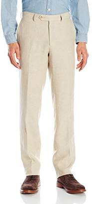 Franklin Tailored Men's Chambre Delave Linen Chase Trouser