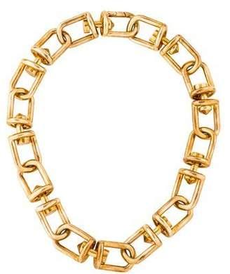 Eddie Borgo Frame Link Necklace