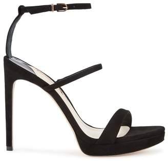 Sophia Webster Rosalind Black Suede Sandals