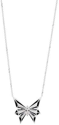 Stephen Webster Fly by Deco Drive 18k Diamond Pendant Necklace