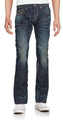 Cult Of Individuality Greaser Straight-Leg Jeans