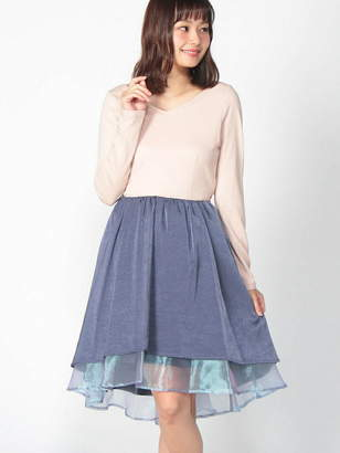 Manon Mimie Back Lace-up Dress マノンミミー ワンピース