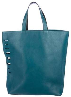 Vince Laser Cut Leather Tote