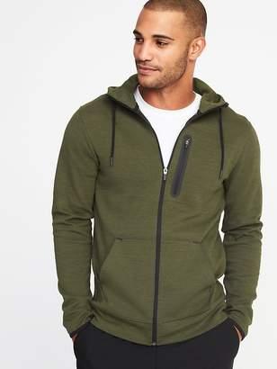 Old Navy Go-Dry Fleece Zip Hoodie for Men