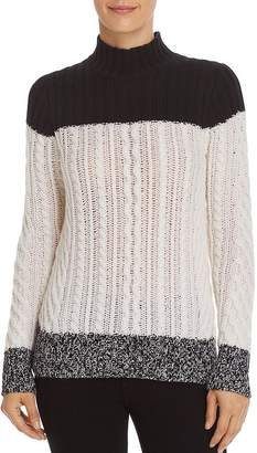 071e3c14638 Bloomingdale s C by Mixed Knit Color-Block Cashmere Sweater - 100% Exclusive