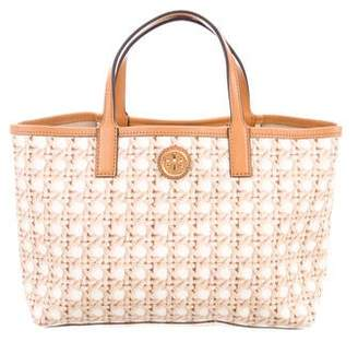 Tory Burch Printed Canvas Satchel