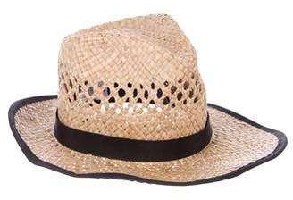 Gladys Tamez Woven Straw Hat