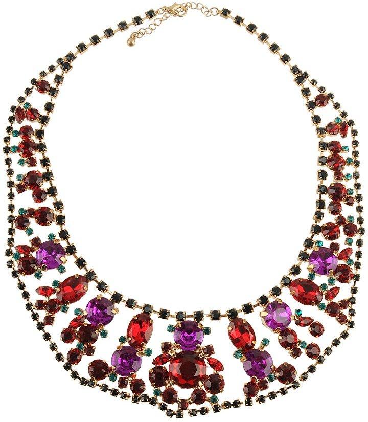 Forever 21 Empress Rhinestone Necklace