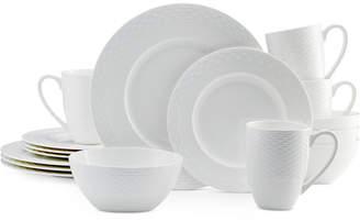 Mikasa Dinnerware Bone China 16 Piece Dinnerware Set Collection