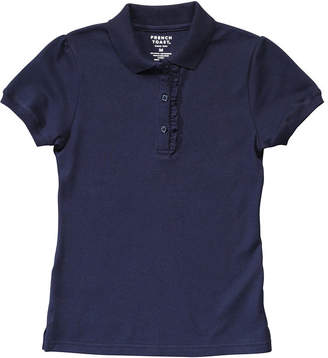 French Toast Short Sleeve Pique Polo Shirt Girls