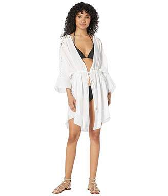 Dotti Island Lace Kimono Cover-Up