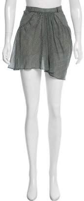 Isabel Marant Striped Mini Skirt