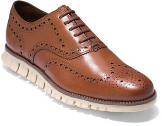 be3533afd1eca Cole Haan Men s ZeroGrand Leather Wing-Tip Oxford