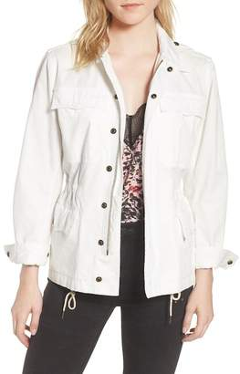 Zadig & Voltaire Embroidered Butterfly Cargo Jacket
