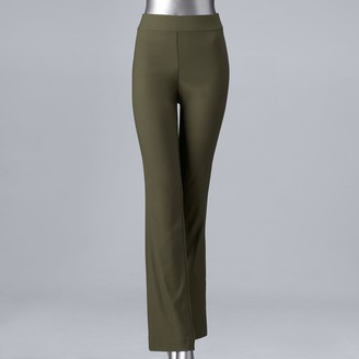 Vera Wang Women's Simply Vera Ultra Stretch Bootcut Pants