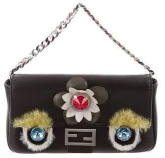 Fendi Mini Leather Crossbody Bag