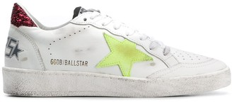 Golden Goose Ballstar distressed sneakers
