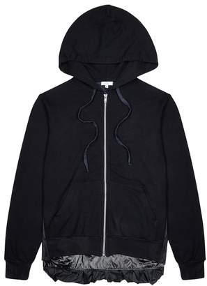 Clu Midnight Blue Shell And Jersey Sweatshirt