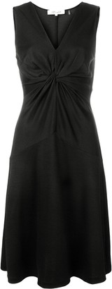 Diane von Furstenberg twisted knot A-line dress