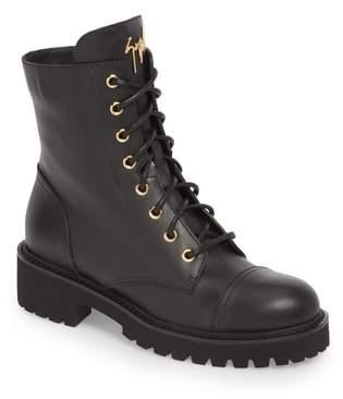 Giuseppe Zanotti Combat Boot
