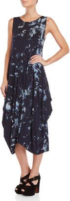 Made In Italy Sleeveless Tie-Dye Maxi Dress