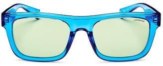 Polaroid Men's Polarized Square Sunglasses, 53mm