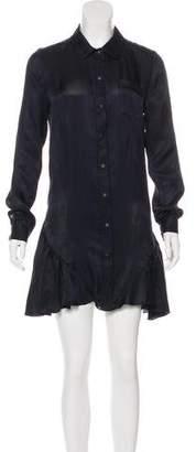 Proenza Schouler Silk Button-Up Dress