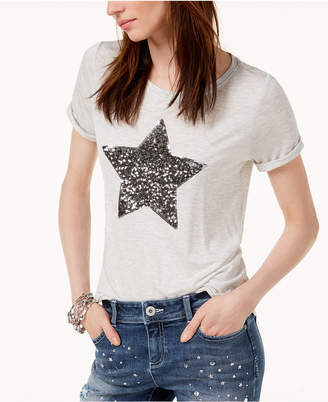 INC International Concepts I.N.C. Embellished Star T-Shirt, Created for Macy's