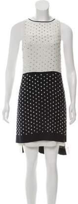 Diane von Furstenberg Abrielle Crystal Embellished Dress Black Abrielle Crystal Embellished Dress