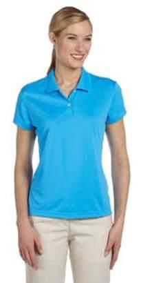 adidas Ladies' climalite Short-Sleeve Pique Polo
