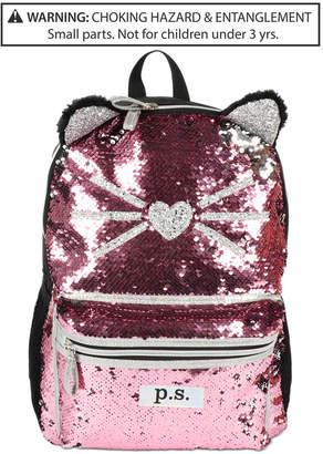 Fab Little & Big Girls Caticorn Sequin Backpack