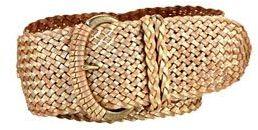 Fossil woven belt