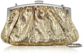 Julia Cocco' Micro Sequins Clutch w/Chain Strap