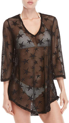 Jordan Taylor Star Mesh Cover-Up Tunic