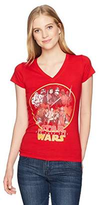 Star Wars Women's Rebel Cause Circle Poster Top
