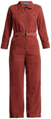 MiH Jeans Drayson cotton-corduroy jumpsuit